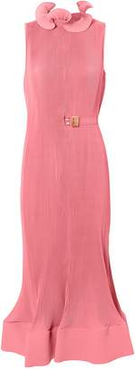 Tibi Pink Pleated Dress