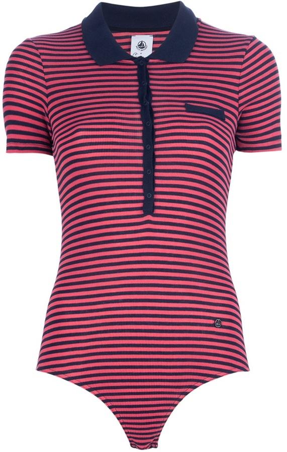 Petit bateau x carven striped polo shirt body sold out for Petit bateau striped shirt