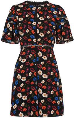Whistles Estrella Pansy Print Dress f59ec1652
