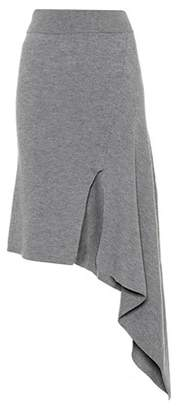 Knitted wool skirt