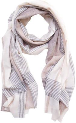 Bibico Somerset Check Wool Scarf