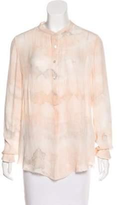 Raquel Allegra Tie-Dye Long Sleeve Top