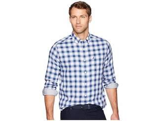 Nautica Long Sleeve Wear to Work Medium Plaid Woven Shirt