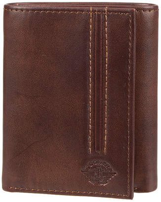 Dockers RFID Trifold Wallet with Zipper Pocket
