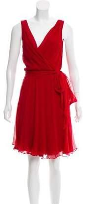 Ralph Lauren Sleeveless Silk Dress