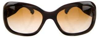 Chanel Tweed Boy Sunglasses