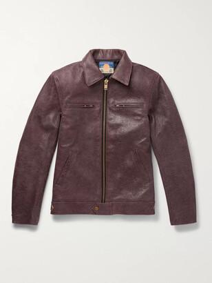 Blackmeans Distressed Leather Jacket