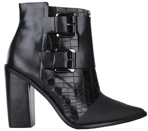 Tibi Piper Boot-Black