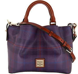 Dooney & Bourke Tiverton Plaid Mini BarlowCrossbody - ONE COLOR - STYLE