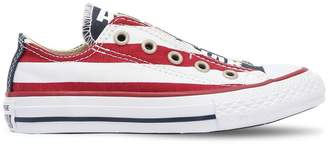 Converse American Flag Cotton Canvas Sneakers