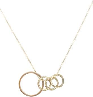 Nashelle Identity Mama & Child 4-Hoop Necklace