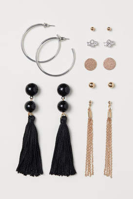 H&M 7 Pairs Earrings - Gold