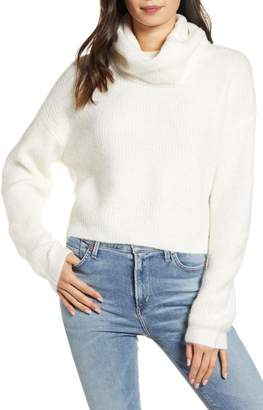 Cupcakes And Cashmere Joanna Cowl Neck Sweater