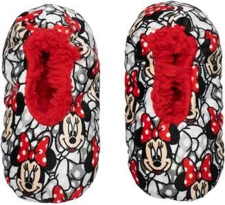 Disney Disney's Minnie Mouse Toddler Girl Fuzzy Babba Slipper Socks