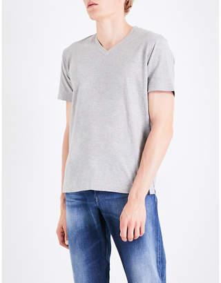 Diesel T-rene marled cotton-jersey T-shirt