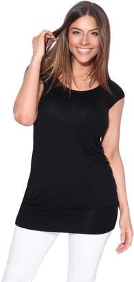 KRISP Maternity Top (Size UK 26/US 22) (7604-BLK-26)