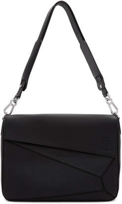 Loewe Black Puzzle Messenger Bag