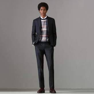 Burberry Soho Fit Tartan Wool Twill Suit