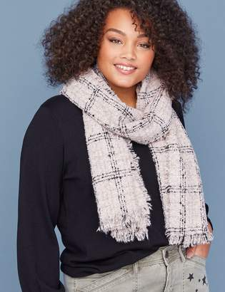 Lane Bryant Plaid Scarf