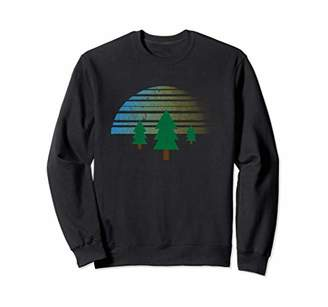 Sun and pine trees sweatshirt.