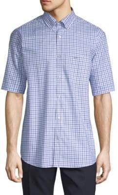 Paul & Shark Checkerd Sportshirt