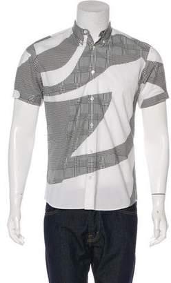 Alexander McQueen Abstract Patterned Shirt