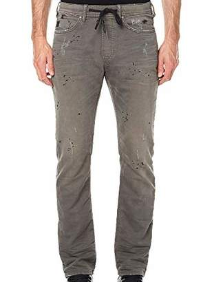Buffalo David Bitton Men's Zoltan-x Dropped Crotch Fit Knit Denim Pant