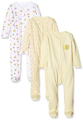 Mothercare Baby Girls' Little Bee Sleepsuit,(Manufacturer Size: 2.3 kg)