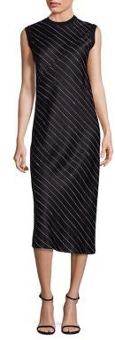 DKNY DKNY Pinstripe Shift Dress