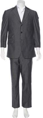 Etro Striped Cotton Suit