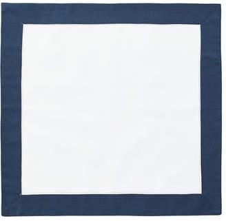 Boutross Imports Color Border Hemstitch Napkins, Set of 4