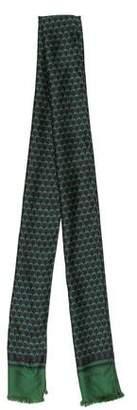 Gucci Ornate Print Silk Scarf w/ Tags