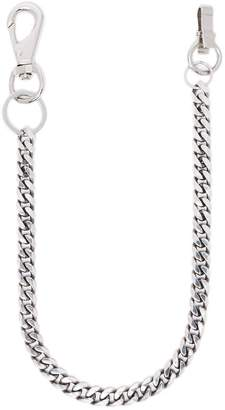 Martine Ali sterling silver plated Cuban link chain