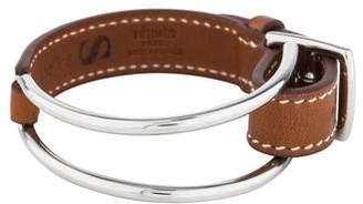 Hermes Karlie Leather Bracelet