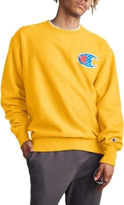 Champion Sublimated Logo Crewneck Sweatshirt