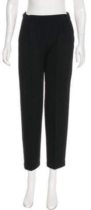 St. John High-Rise Cropped Pants