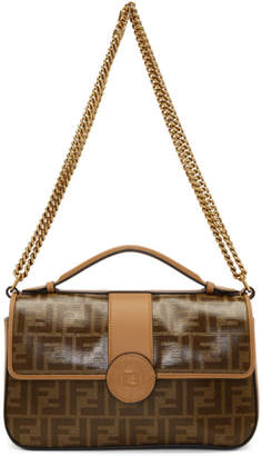 7d544f5e2b Free Shipping at SSENSE · Fendi Brown Forever Bag