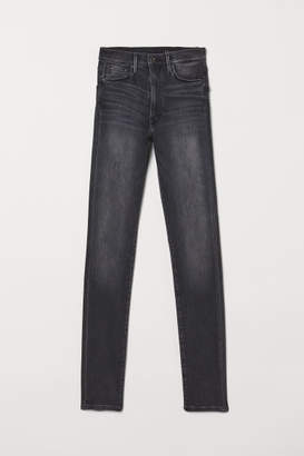 H&M Shaping Skinny High Jeans - Gray