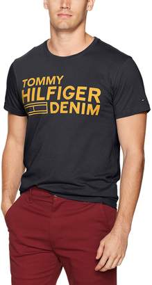 Tommy Hilfiger Crew Neck Graphic T-Shirt/Tees