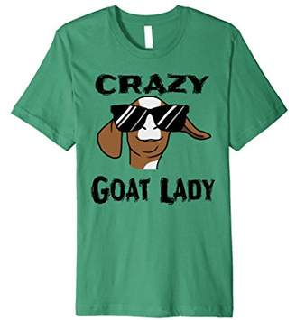 Goat Shirt For Women - Crazy Goat Lady T Shirt