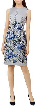 Hobbs London Royal Chrysanthemum Shift Dress