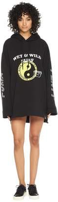Puma x Fenty by Rihanna Long Sleeve Hoodie Gathered Women's Sweatshirt
