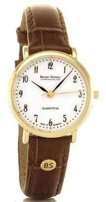 Soehnle Bruno Women's Quartz Watch Analogue Display and Leather Strap 17-33045-921