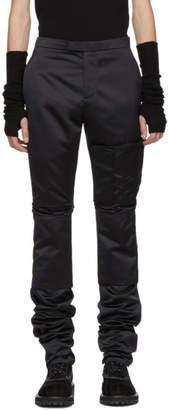 Raf Simons Navy Slim Space Cargo Pants