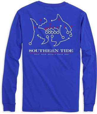 Southern Tide Skipjack Play Long Sleeve T-shirt - Southern Methodist University