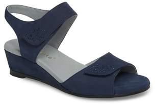 David Tate Queen Embellished Wedge Sandal
