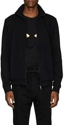 Fendi Men's Logo Cotton-Blend Track Jacket