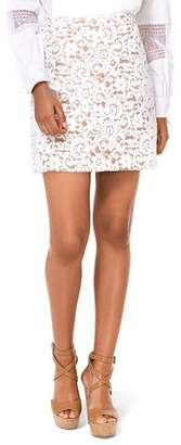 MICHAEL Michael Kors Lace Mini Skirt
