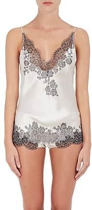 Carine Gilson Women's Lace-Inset Silk Camisole