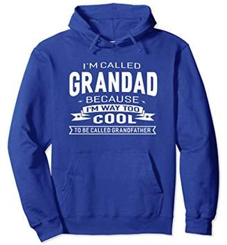 I'm Called Grandad Grandfather Grandpa Gift Men Hoodie